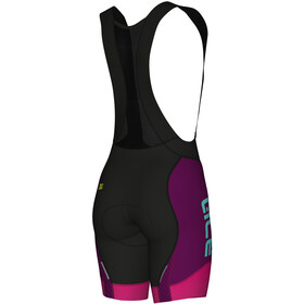 Alé Cycling R-EV1 Summers Bibshorts Women purple-fluo magenta